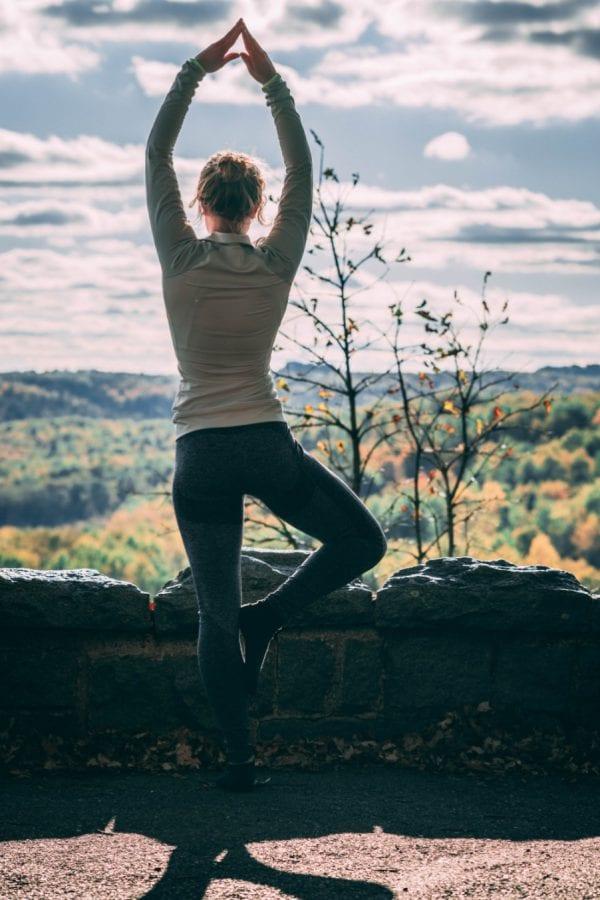 yogo woman lady pose